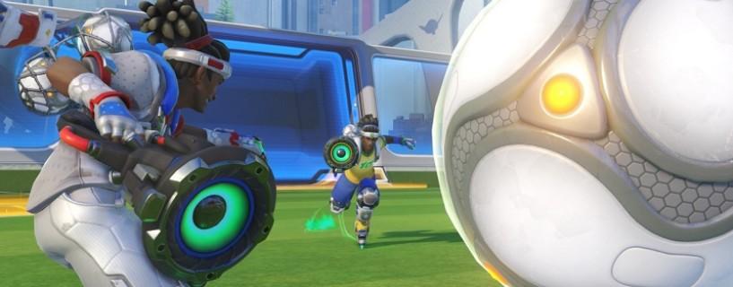 لعبتي Rocket League و Overwatch تجتمعان مع النمط الجديد Lúcioball