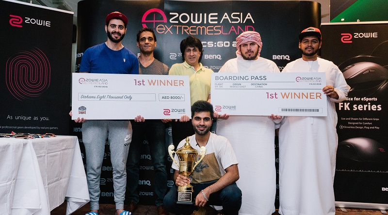 Photo of Team Risky wins CS: GO Middle East qualifiers for eXTREMESLAND ZOWIE ASIA CS: GO 2016
