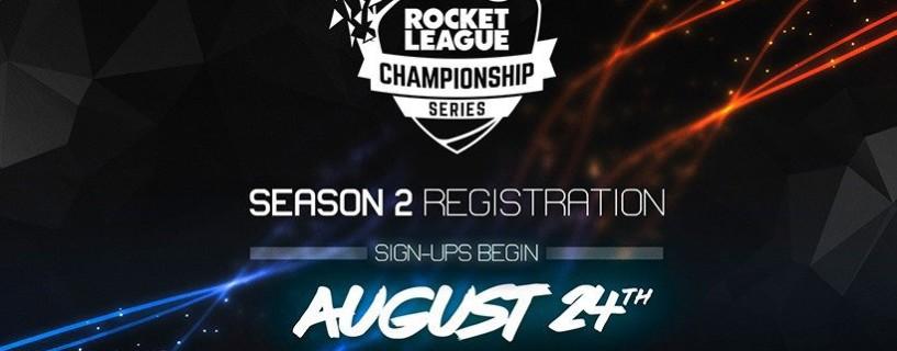 الإعلان عن الموسم الثاني من بطولة Rocket League الكبرى بعد النجاح الباهر للموسم الأول