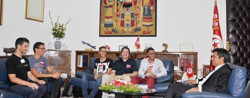 وزير الاتصالات التونسي يلتقي بممثلي الجمعية التونسية للألعاب الإلكترونية