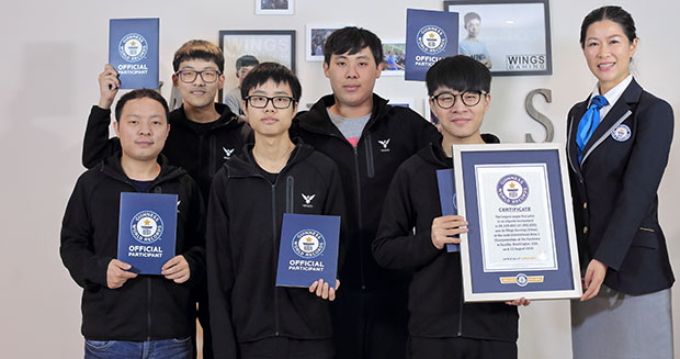 Photo of Wings Gaming enters Guinness World Records with biggest prize money won in Esports history