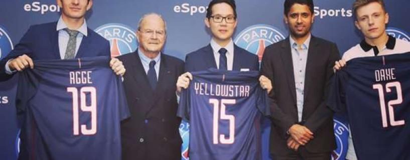 نادي Paris Saint-Germain يوقع مع لاعبي FIFA و YellOwStaR رئيساً لفرع الرياضات الإلكترونية