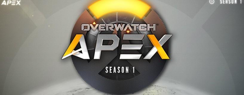 تحديد الفريقان المتنافسان في نهائي الموسم الأول لبطولة Overwatch Apex