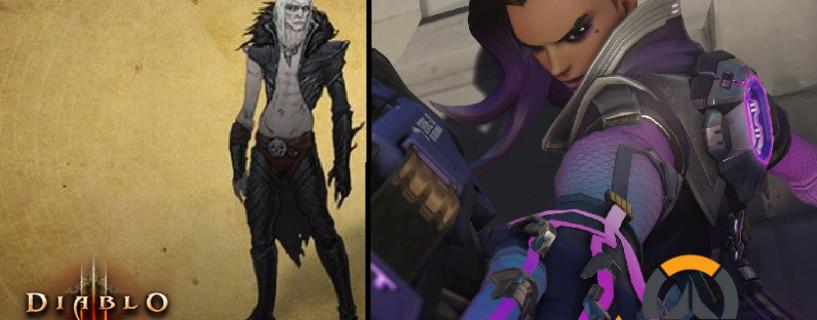 انضمام Sombra لشخصيات Overwatch و Diablo الأصلية قادمة للعبة Diablo III ضمن أخبار معرض BlizzCon