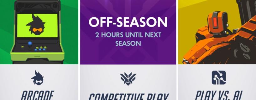 إنطلاق الموسم الثالث لطور اللعب التنافسي في لعبة Overwatch