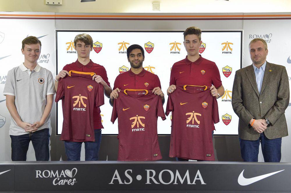 Photo of نادي AS Roma الإيطالي يدخل عالم الرياضات الإلكترونية بالتعاون مع Fnatic