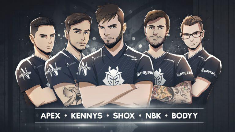 Photo of خروج ScreaM وانضمام KennyS في تشكيلة G2 Esports الجديدة