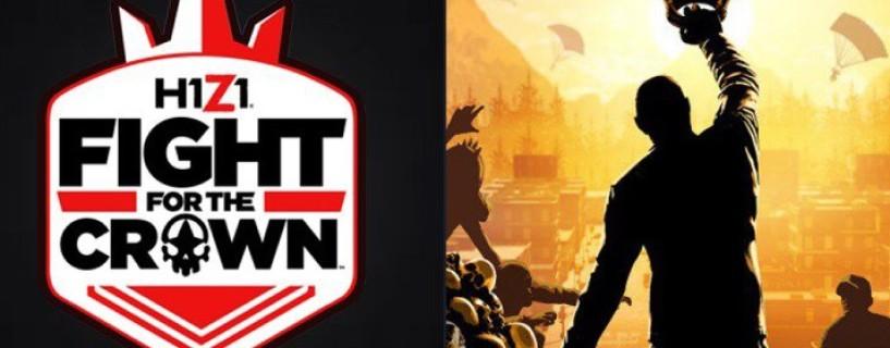 الإعلان عن بطولة للعبة H1Z1 بجائزة $300 ألف دولار أميركي