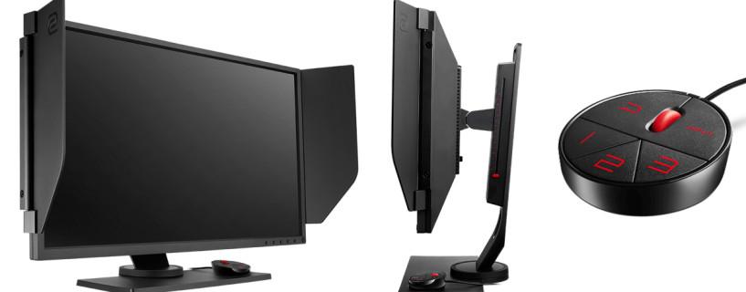 شركة BenQ ZOWIE تصدر اول شاشة بتردد 240 هرتز للالعاب الرياضة الالكترونية