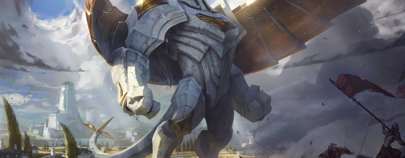 Riot Games unveils the new and improved Galio and his abilities set
