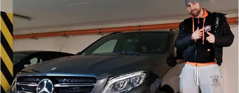 Virtus.Pro's TaZ received a Mercedes for winning DreamHack Masters