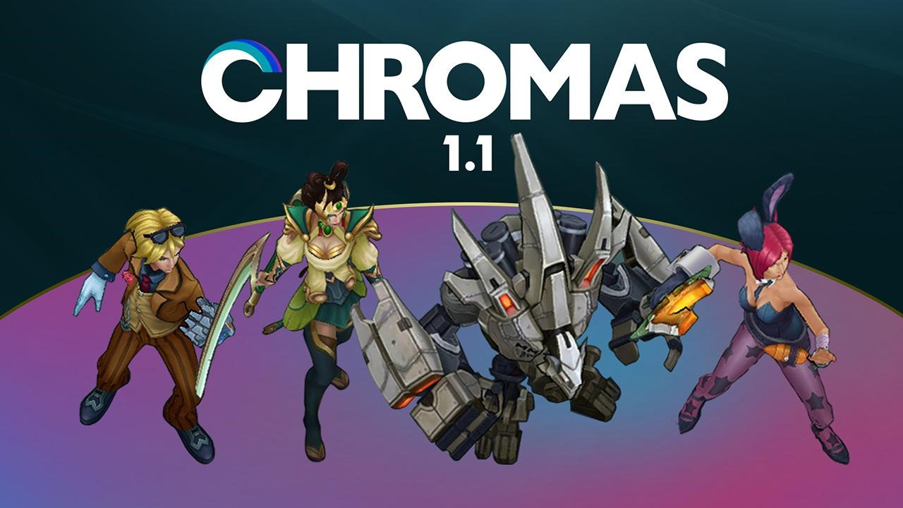 Photo of Riot Company launching chromas sales for this year