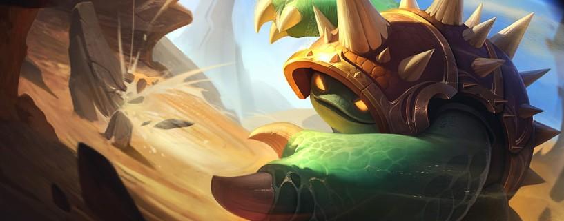 البطل Rammus هو التالي في الحصول على التحديث في League of Legends