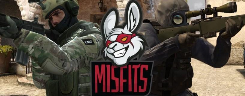 فريق Misfits ينهي من تشكيل فريق CSGO جديد