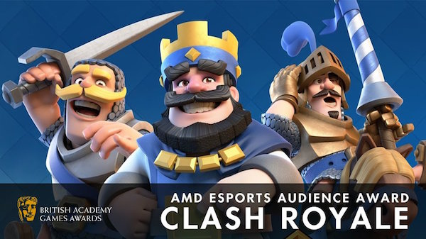 Photo of Clash Royale Beat All Esports Games for BAFTA 2017 Esports Audience Award