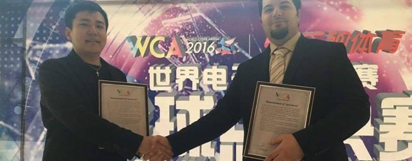 توقيع منظمة WCA عقداً حصرياً مع eSports Middle East لتنظيم تصفيات الوطن العربي 2017
