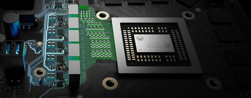 Xbox One Scorpio specs detailed