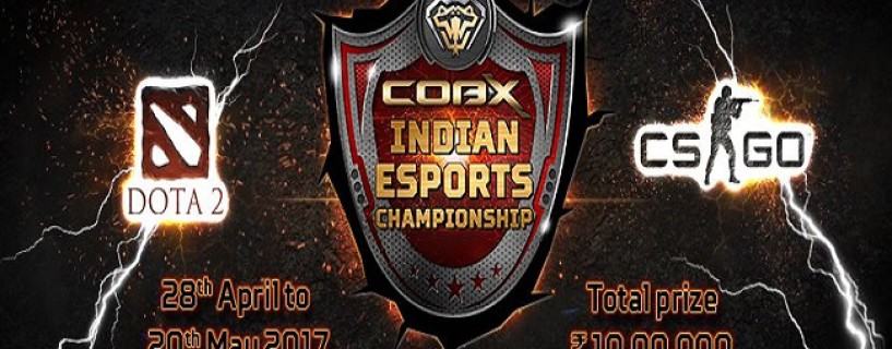cobx indian esports championship announced for dota 2 and cs go