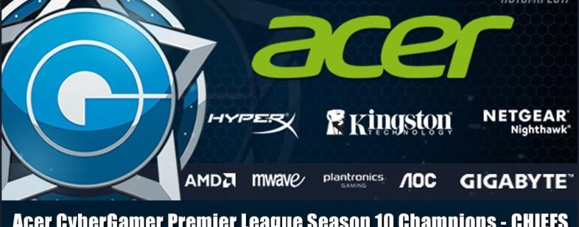 فريق The Chiefs يخرج منتصر من بطولة Acer CyberGamer للعبة CSGO