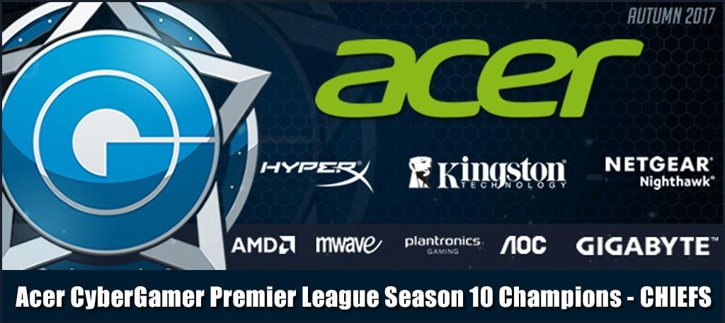 Photo of فريق The Chiefs يخرج منتصر من بطولة Acer CyberGamer للعبة CSGO