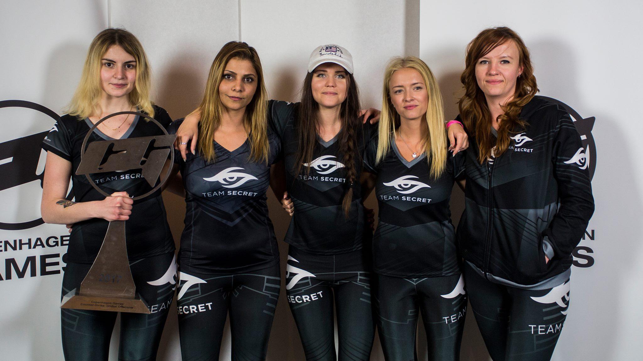 Photo of إعلان اسم الفريق الفائز في بطولة النساء من 2017 Copenhagen Games للعبة CSGO