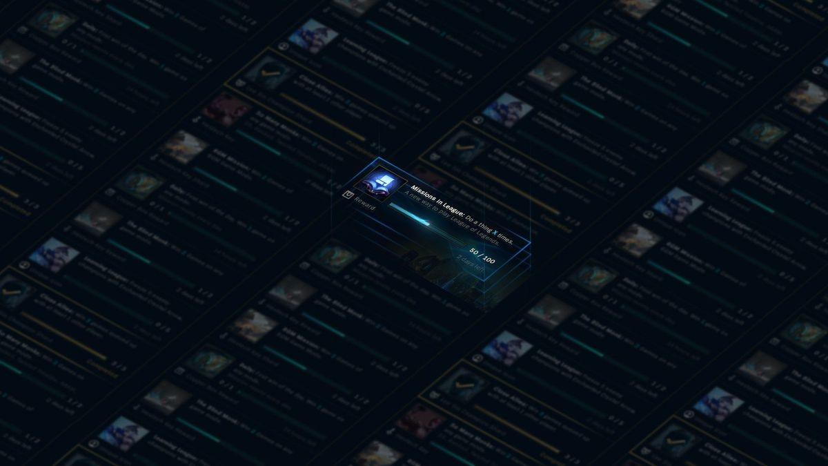 Photo of المهمات و الجوائز في طريقها إلى لعبة League of Legends