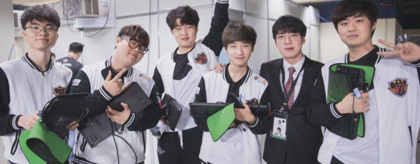 فريق SKT Telecom T1 و منافسات منتصف الموسم في League of Legends