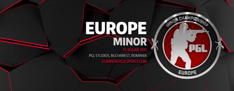 إليكم جميع الفرق المشاركة في بطولة European Minor Championship من PGL Major Kraków 2017