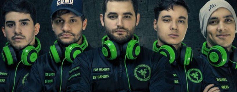 شركة Razer تصبح شريكاً رسمياً للفريق البرازيلي الأشهر في عالم CS: GO