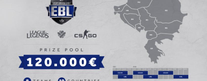 الإعلان عن بطولة Esports Balkan League للعبة CSGO و League of Legends