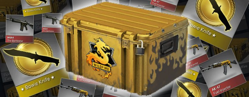 CS: GO case opening websites are a scam according to report