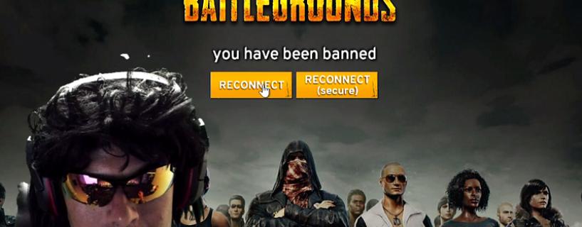 لاعب مشهور في Twitch يتعرض للحظر من لعبة PlayerUnknown's Battlegrounds على الهواء لهذا السبب