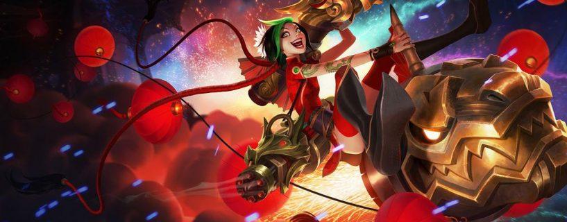 الشخصيات Sivir و Jinx في طريقهم إلى تغيير القوى في League of Legends