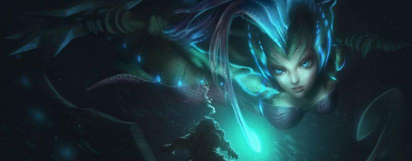 البطلة Nami سوف تحصل على القليل من التغيير في التحديث القادم Patch 7.15 في League of Legends