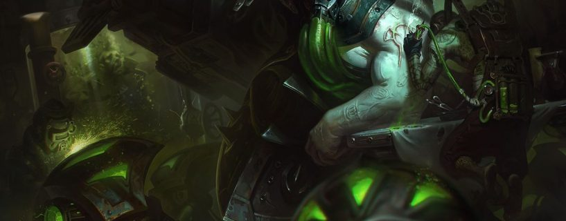 Urgot and his Rework in League of Legends