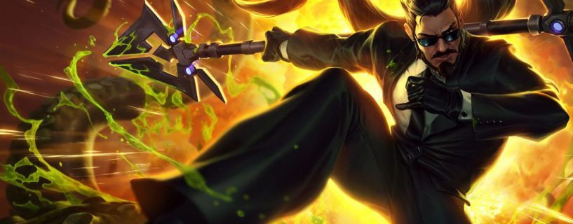 Xin Zhao in the way to rework in League of Legends