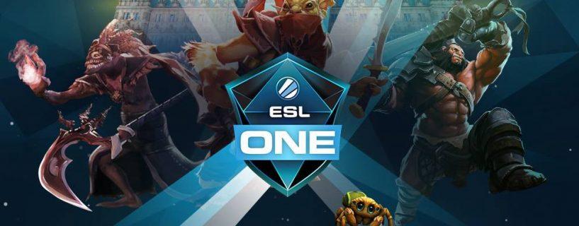 بطولة Dota 2 Major القادمة ستجري على أرض أوروبية للمرة الثالثة بتنظيم ESL