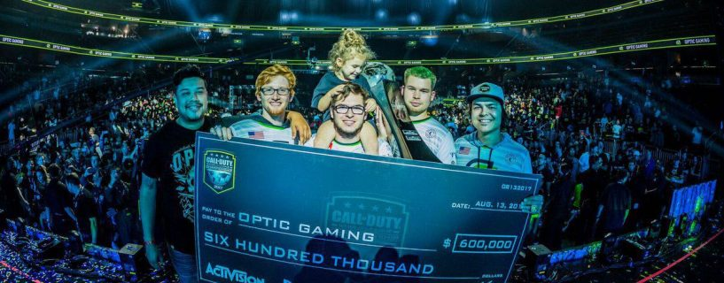 OpTic finally lifts the Call of Duty World Championship trophy and becomes the richest team in the consoles world