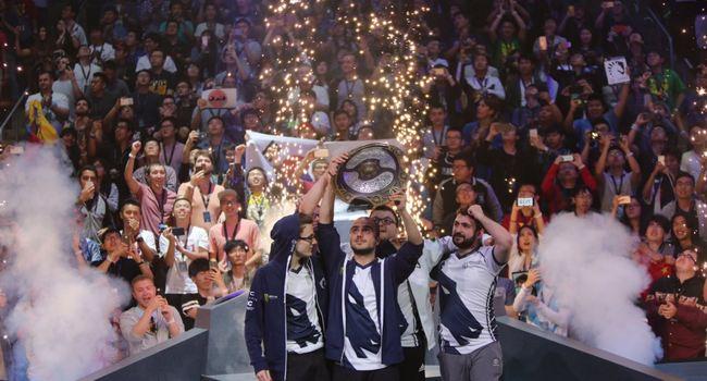 Team Liquid Aegis The International 7