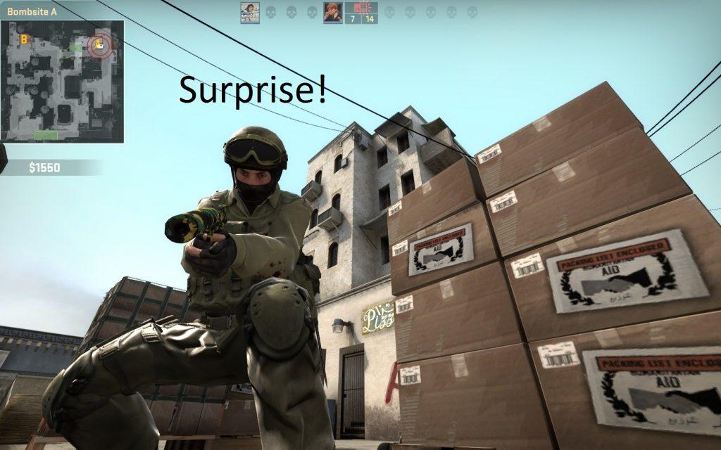 csgo surprise