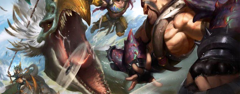 بعض التغييرات في القوى في طريقها إلى البطل Draven في League of Legends