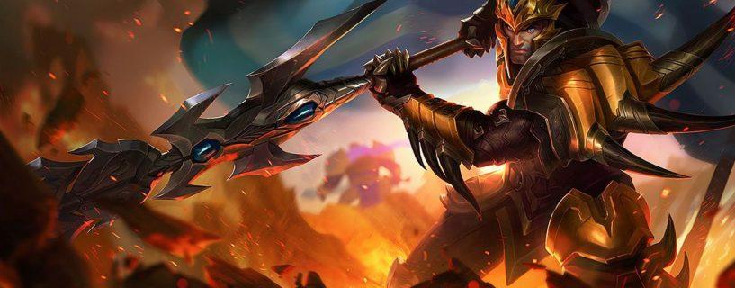 البطل Jarvan سوف يحصل على بعض تغييرات القوى في League of Legends