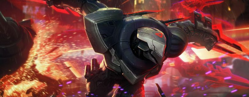 Zed on the way to power changes in League of Legends