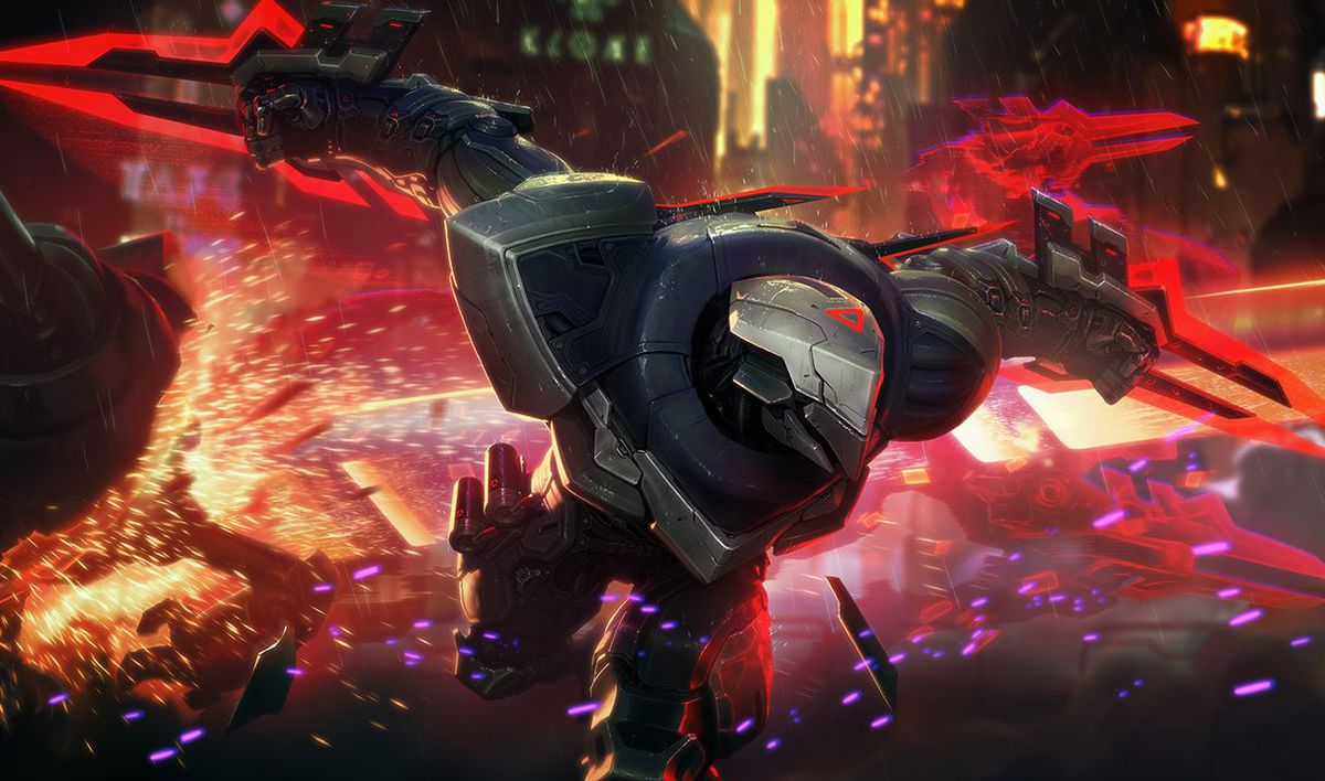 Photo of Zed on the way to power changes in League of Legends
