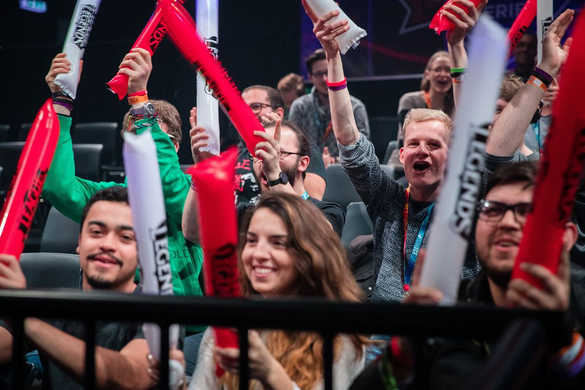 Photo of First day from EU LCS Promotion Tournament in League of Legends