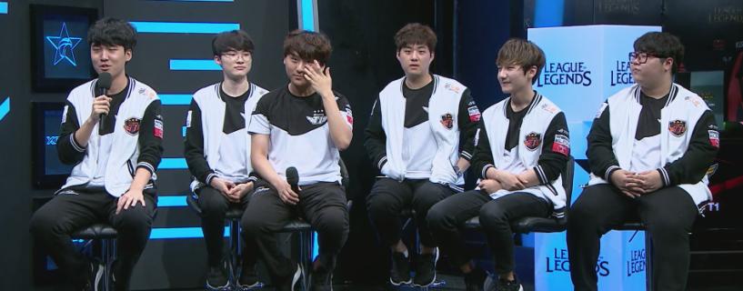 العملاق الكوري SK Telecom T1 يستمر بالهيمنة و يتأهل لبطولة العالم