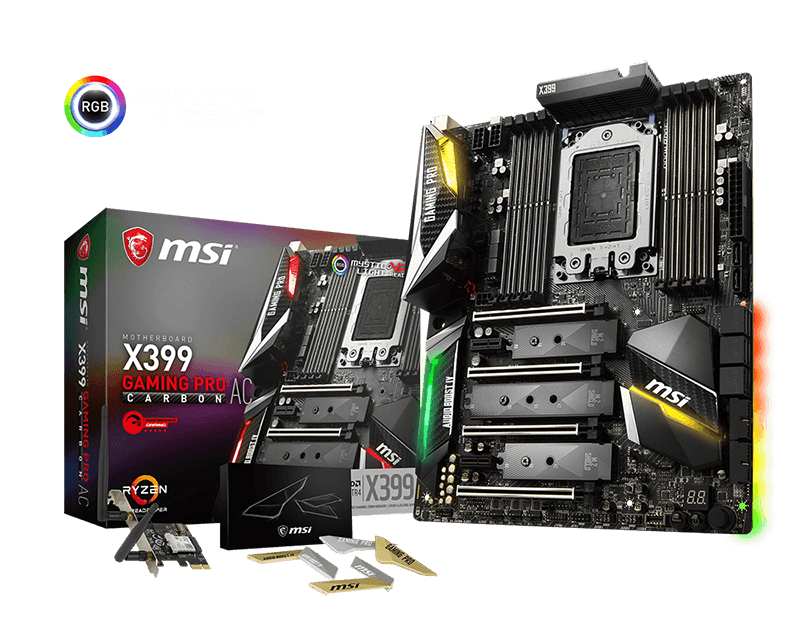 Photo of MSI readies X399 GAMING PRO CARBON AC to rip threads