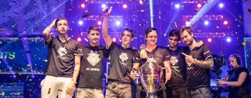 G2 Esports يرفع كأس بطولة DreamHack Masters Malmö 2017