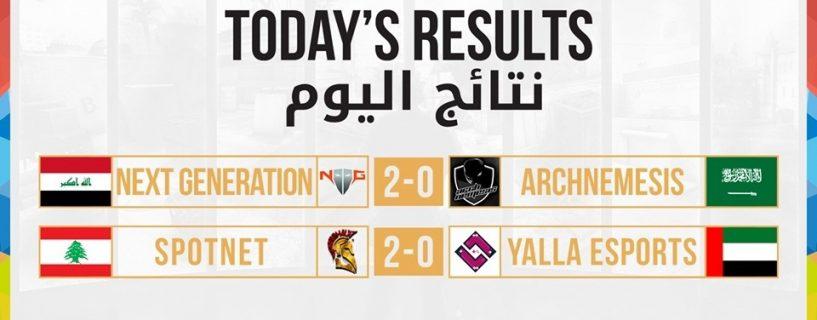فريق Spotnet يفاجئنا بتصدر نتائج مباريات اليوم بتصفيات الوطن العربي الإقليمية من WCA 2017 في CS:GO