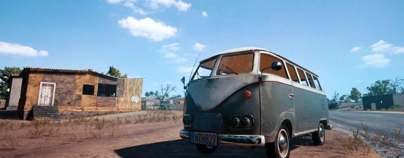 ميكروباص … أحدث المركبات القادمة للعبة PlayerUnknown's Battlegrounds